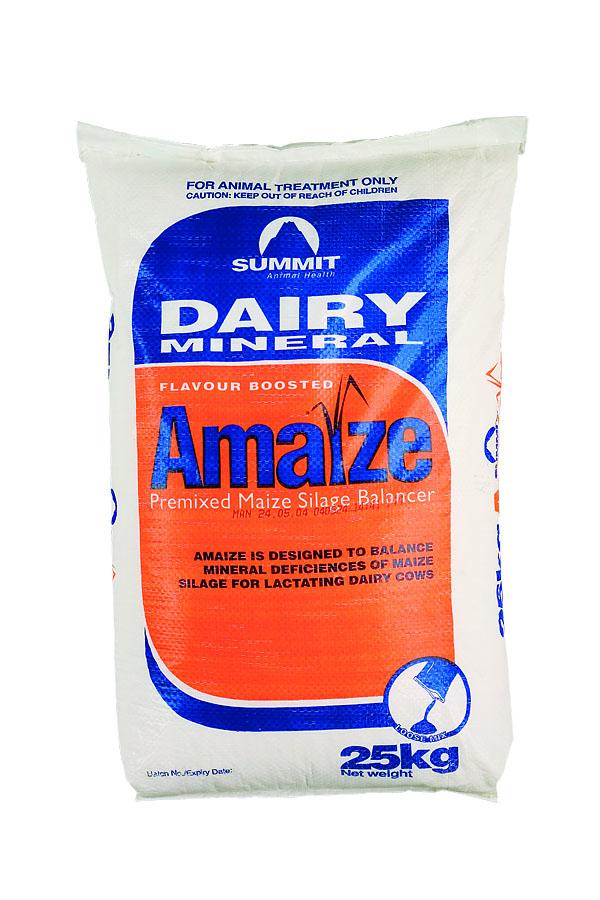 Summit dairy mineral amaize