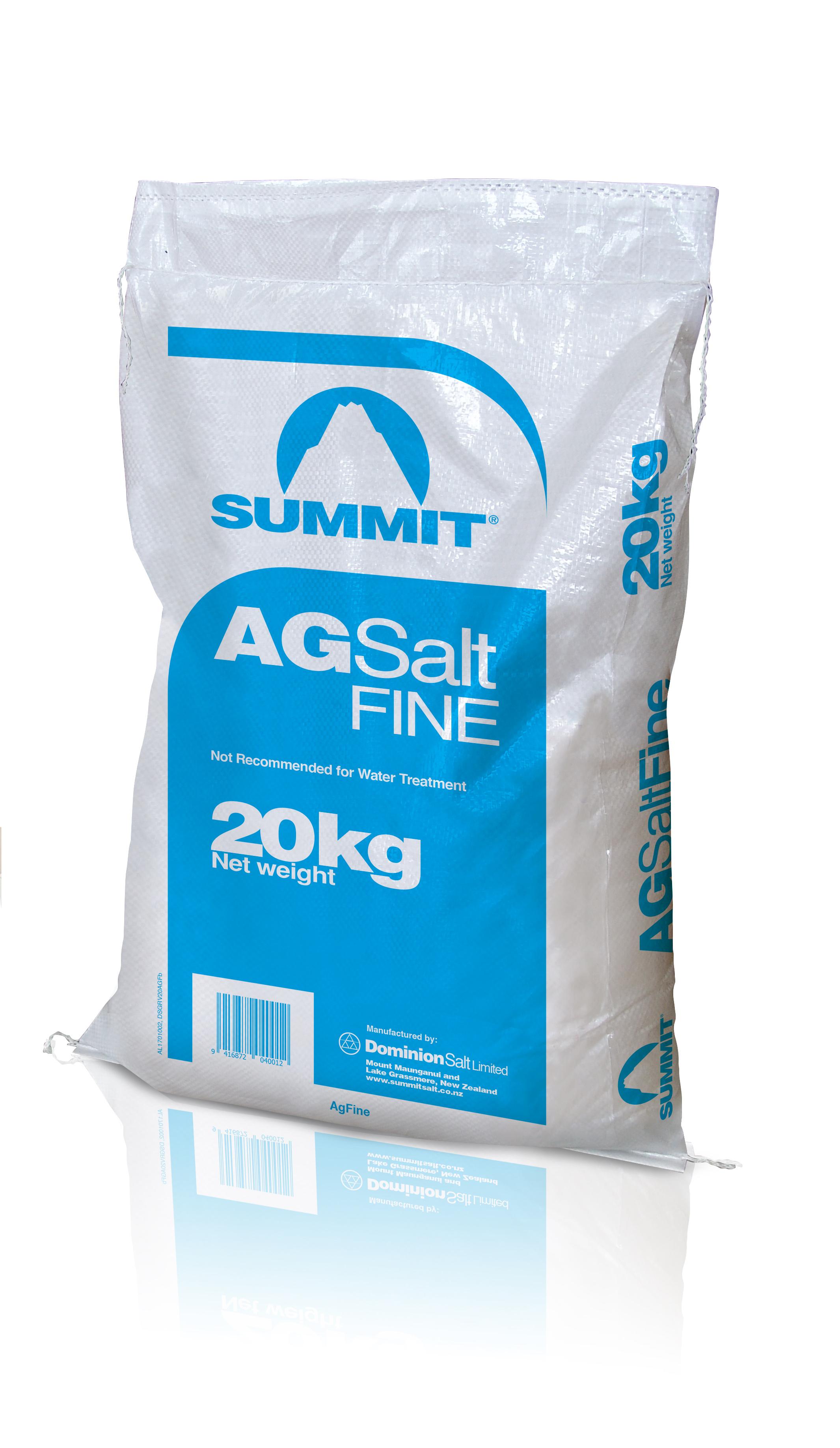 Summit agsalt fine
