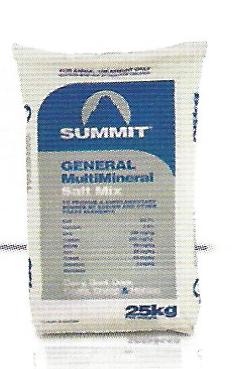 Summit general multimineral salt mix